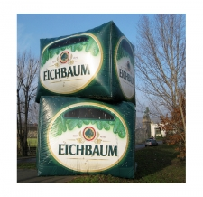 Werbewürfel XXL - Eichbaum