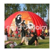 Aufblasbarer Airshelter - Zelt - Musikfestival