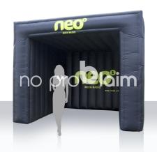 Aufblasbares Werbezelt Corner Radio Neo