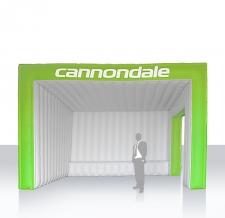 Aufblasbares Zelt eckig - Zelt Corner Cannondale