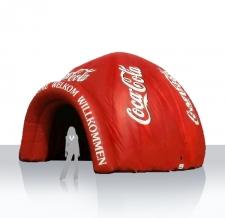 Aufblasbares Zelt Iglu Coca Cola