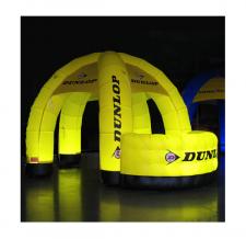 Info Stand beleuchtet - Dunlop