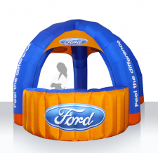 Info Stand aufblasbar - Ford