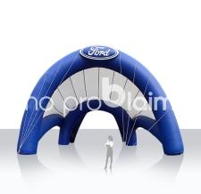 Riesenzelt, Messezelt aufblasbar - Sonderform Ford
