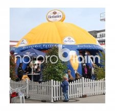 Verkaufszelt Pavillon Sonderform - Herforder Partydome