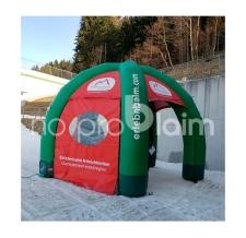 aufblasbares Zelt - mit Einbaugebläse - Zelt Classic erlebnisalm.com