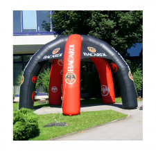 aufblasbarer Eventpavillon Werbezelt Classic 5-Bein - Bacardi