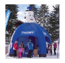Aufblasbares Zelt Classic 5-Bein - Thomy