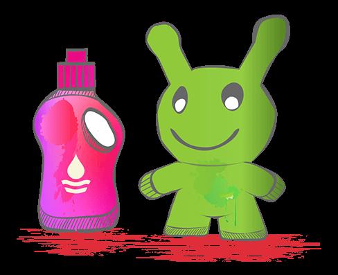 icon - aufblasbare Maskottchen, Produkte und Logos