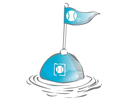 icon Bojen - schwimmende Werbeobjekte