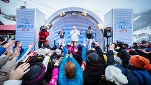 Aufblasbares Bühnenzelt DJ Ötzi
